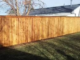 Michigan Cedar Wood Fence Installation Sterling Heights
